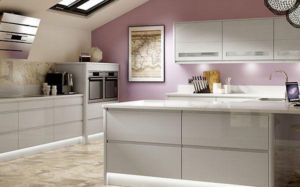 Modern Gloss Benchmarx Kitchen  Home Organization  Pinterest Classy Latest Kitchen Designs Uk Inspiration Design