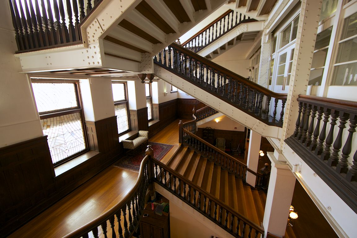 Best Inside The Baldwin School The Main Staircase Shows Franks 400 x 300