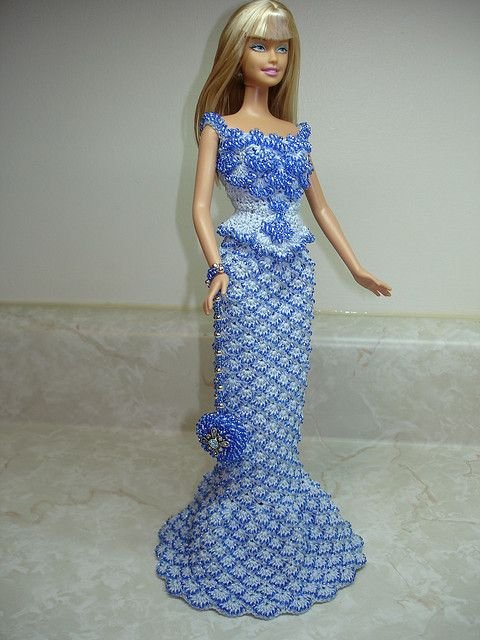 2010 PALE BLUE COTTON, BLUE BEADS, 1896 COURT PRESENTATION GOWN top, 1903 PARIS OPERA SKIRT - DOLL AND OUTFIT SOLD! | Flickr - Photo Sharing!
