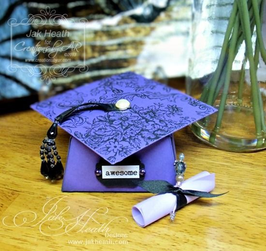 Grad Cap Box (instructions For Sale)