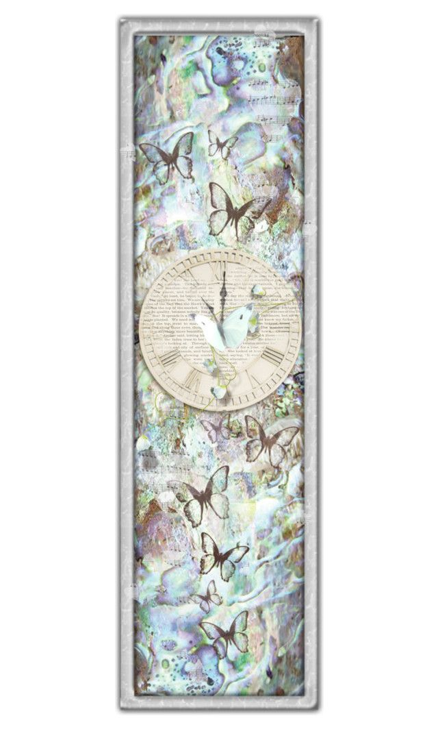 """""""Abalone Bookmark"""" by crezenthie ❤ liked on Polyvore featuring art"""