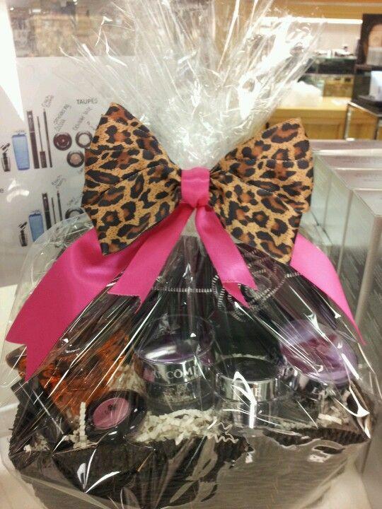 Lancome Cosmetics Gift Basket Teenage Girl Gifts Christmas Easy Diy Christmas Gifts Christmas Gift Baskets Diy