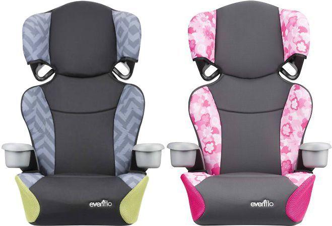 Evenflo Big Kid Sport High Back Booster Seat 2 Colors Evenflo Booster Seat Big Kids