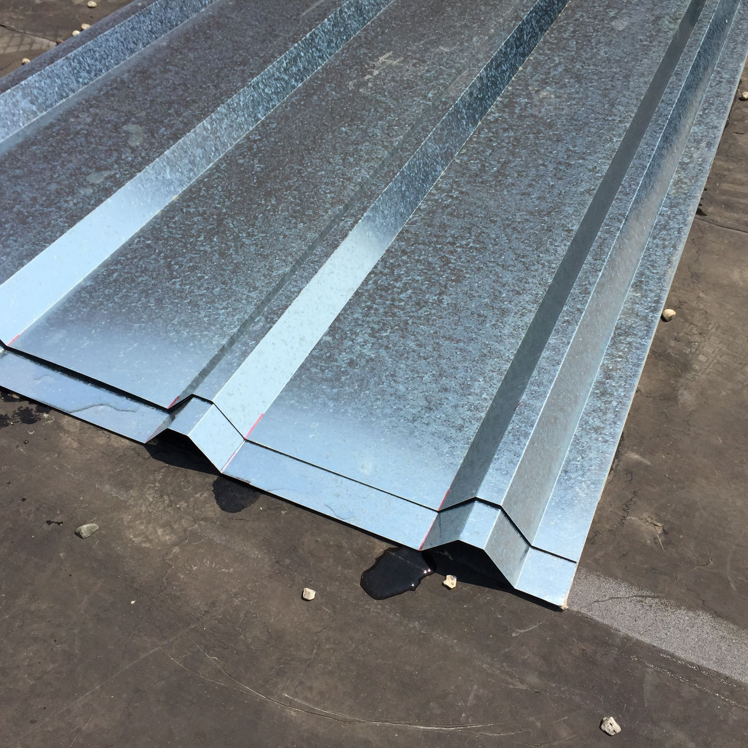 Corrugated Metal Roof Sheets Galvanized Metal 11525 In