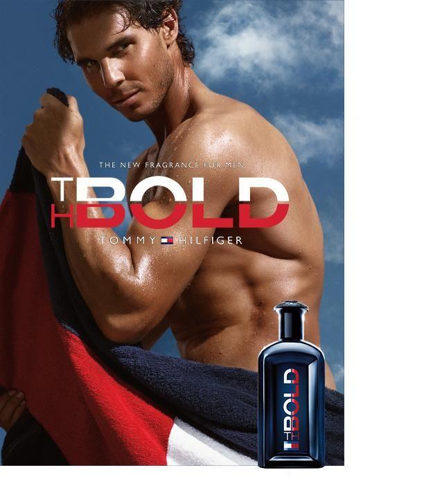 Rafa #Nadal #TommyXNadal Fragrance advert BOLD!