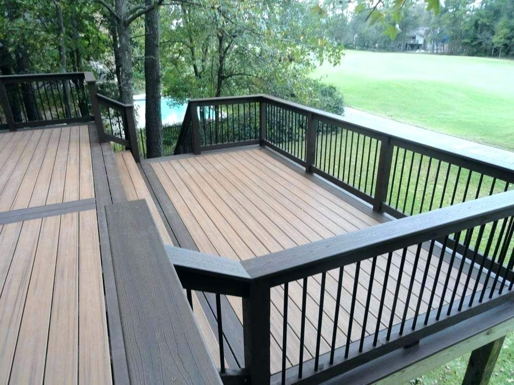 2 Tone Deck Two Tone Deck Photo Of Woody United States Two Story