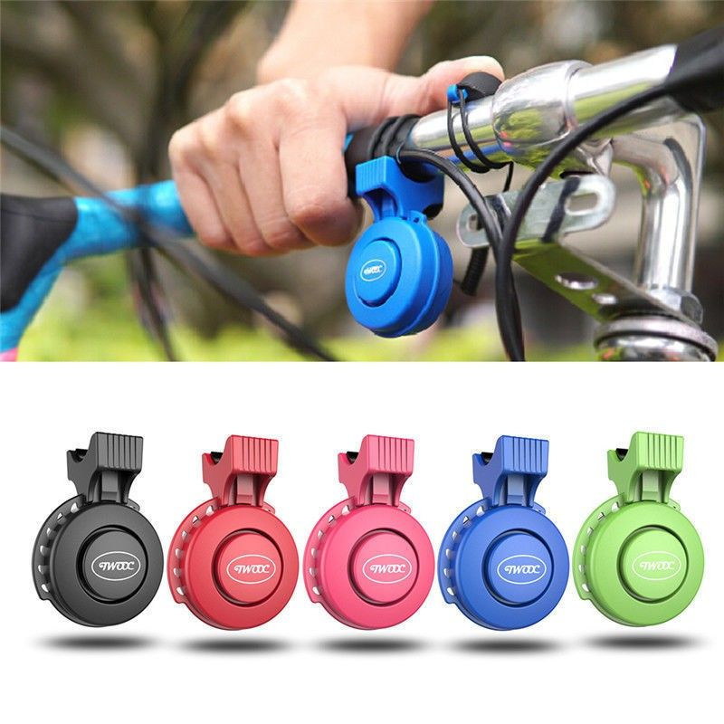 Button Battery Electronic Bicycle Bell Bike Ring Horn Electric Cycling Bell