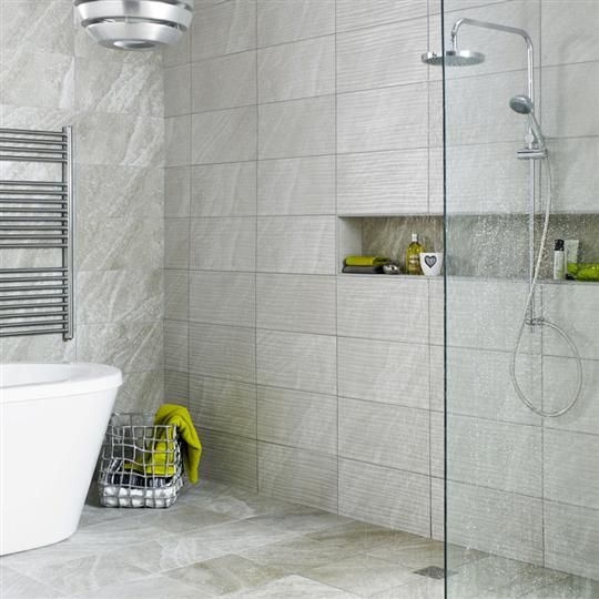 Perfect 25x50cm Ditto Light Grey Wave By BCT. Tiles UkWall TilesFlooring  IdeasBathroom ... Part 28