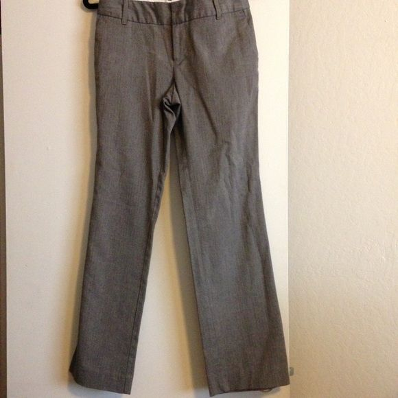 Brown Herringbone Pants Classic herringbone pants. 49% polyester, 49% rayon, and 2% spandex. Very comfortable boot cut style with stretch. Great condition. Old Navy Pants