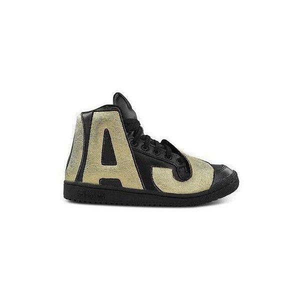 5c57520bf Adidas Originals Jeremy Scott Letters Shoes Sneakers Black Gold 10 5 11 12  Auth