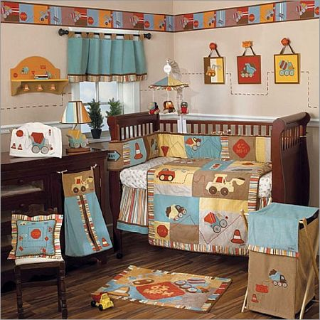 Construction Baby Bedding Workzone Crib Collection More