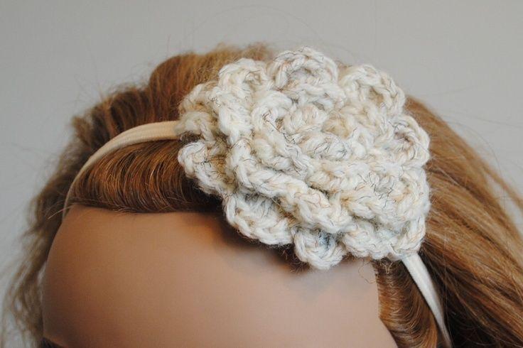Crochet Hair Barrettes Patterns Free Crochet Hair Accessory