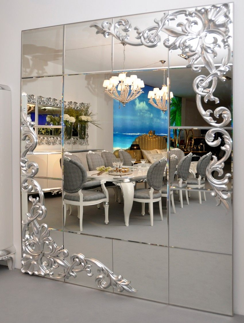 10+ Stunning Oversized Wall Mirrors For Living Room
