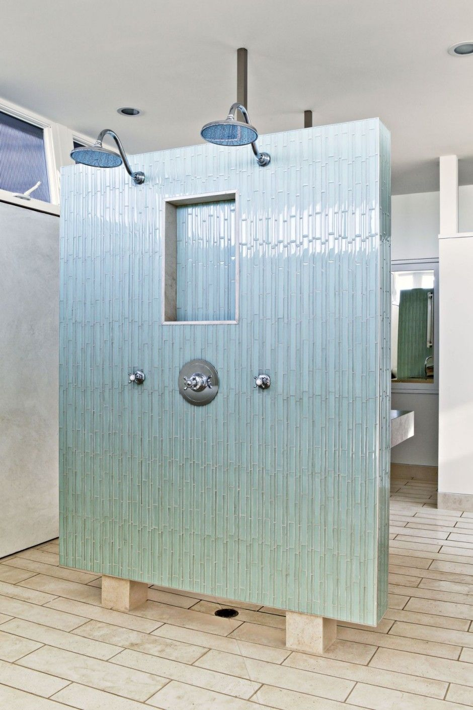 Shower Room Ideas In Contemporary Lifeguard Tower Beach House Design By Lazar Home Trends Photos Picture At And