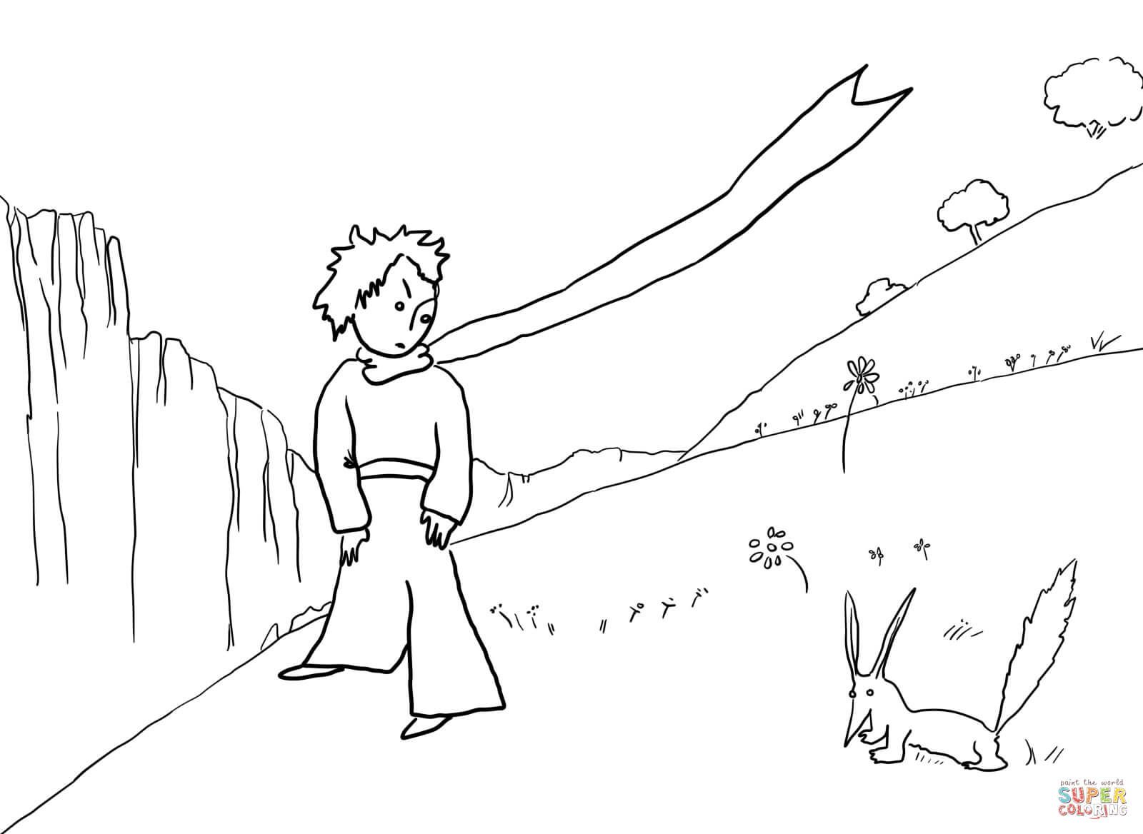 Little Prince Meets the Fox