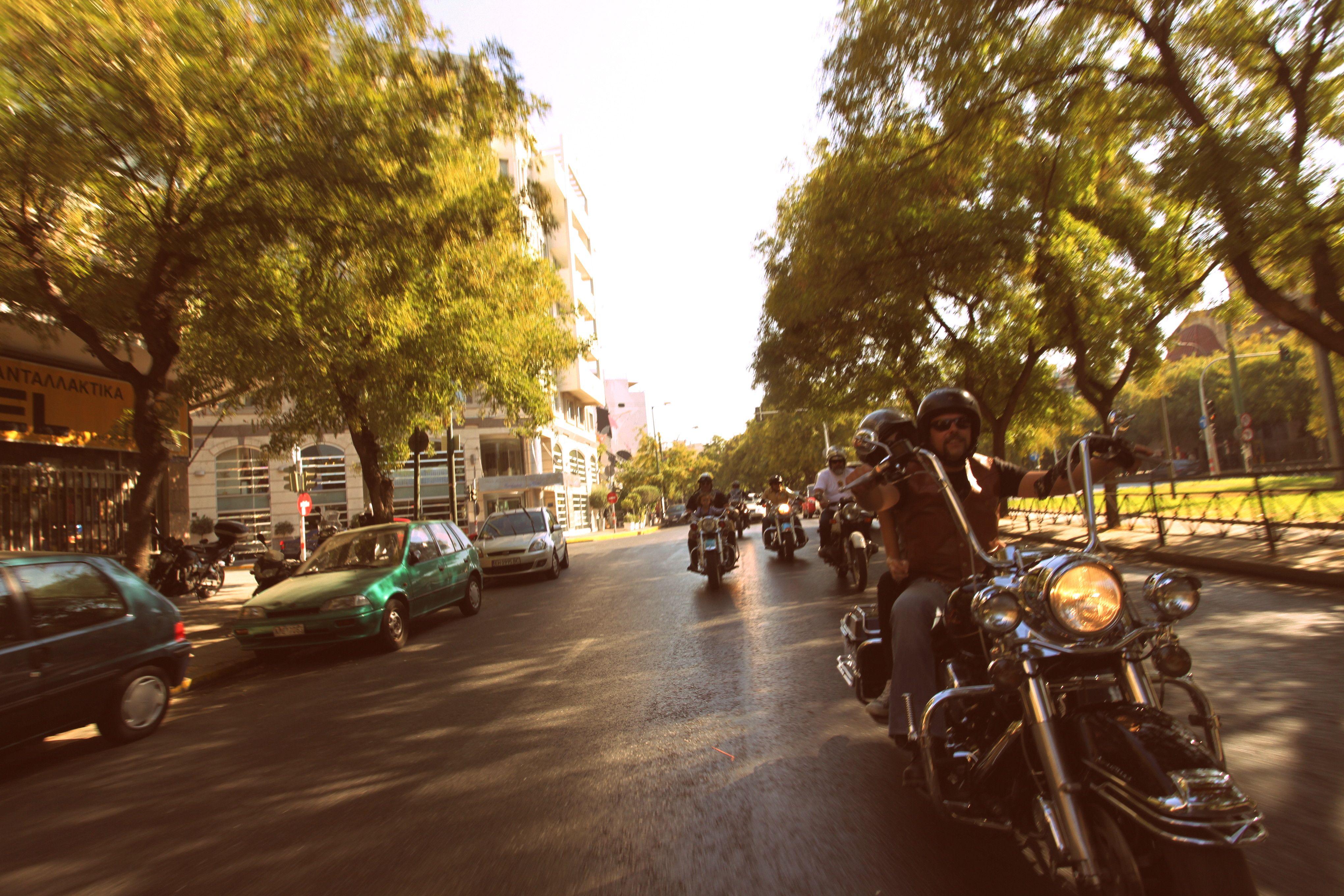 Athens dgr 2013 riding athens moped