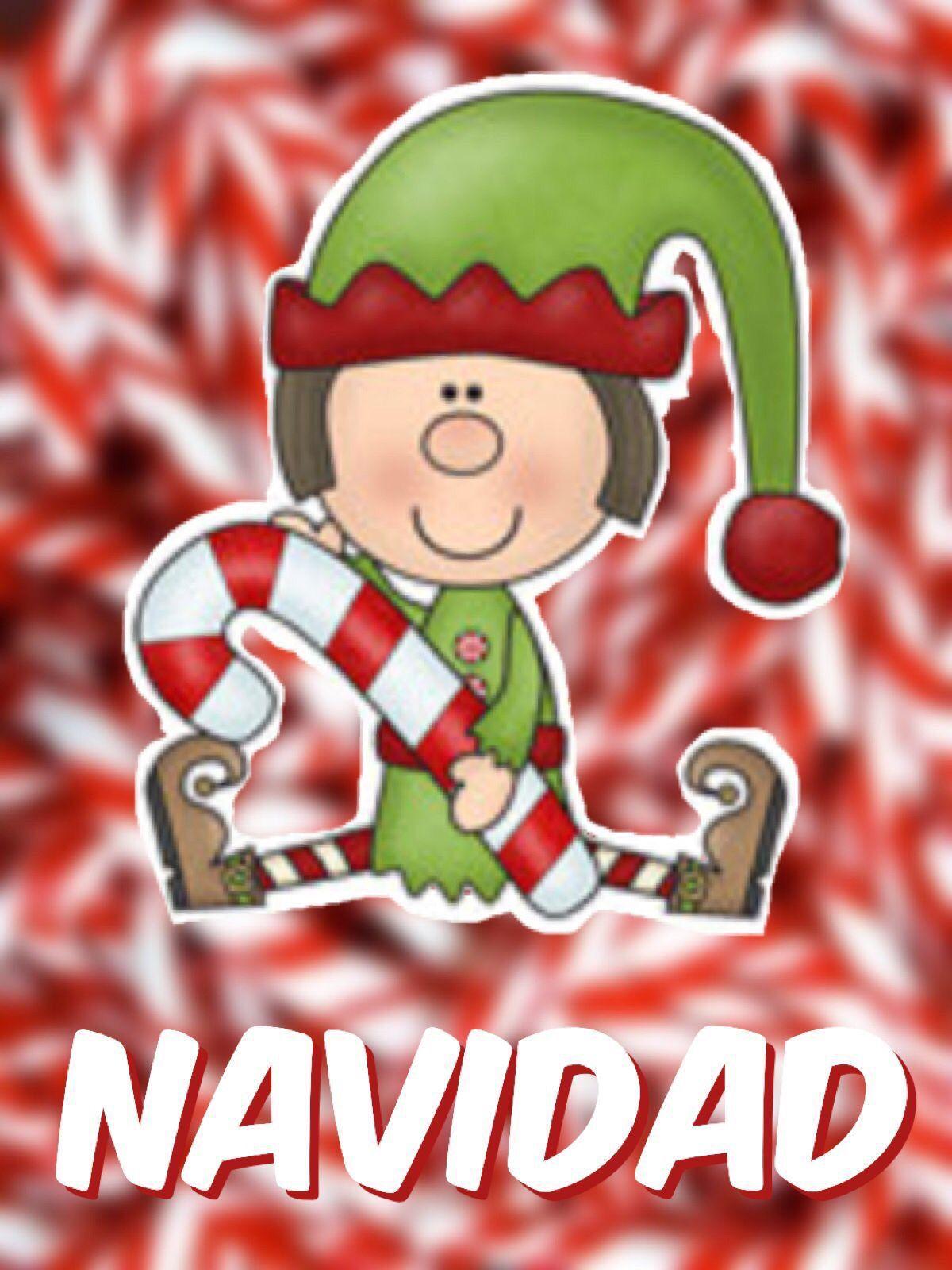 Navidad, duende entre bastones de caramelo | Año nuevo y navidad ...