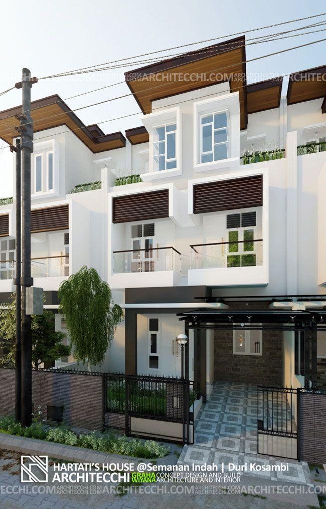 Arsitektur Desain Rumah Minimalis 3 Lantai Lebar 7 5 Meter 5