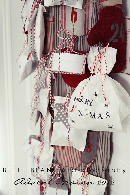 Using kitchen twine or string great idea to embellish with