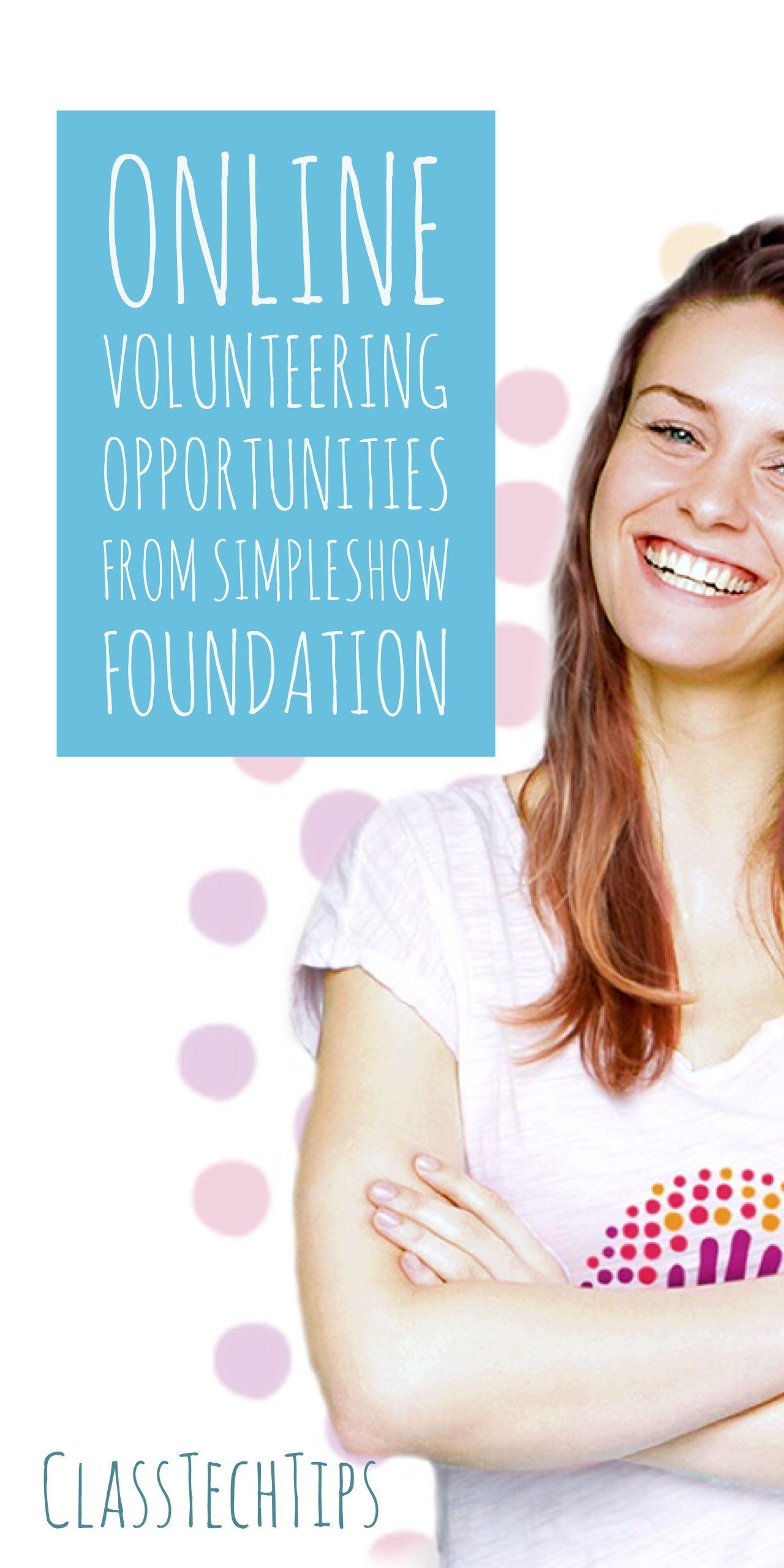 Online Volunteering Opportunities from simpleshow