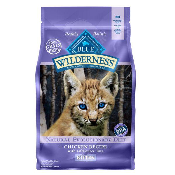 Blue Buffalo Wilderness Grain Free Kitten Food Kitten Food Dry Cat Food Cat Food