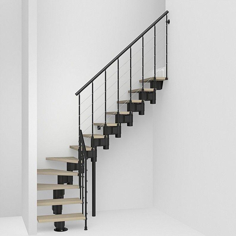Escalier 14 Tournant Escalier à Volée Long Structure Acier