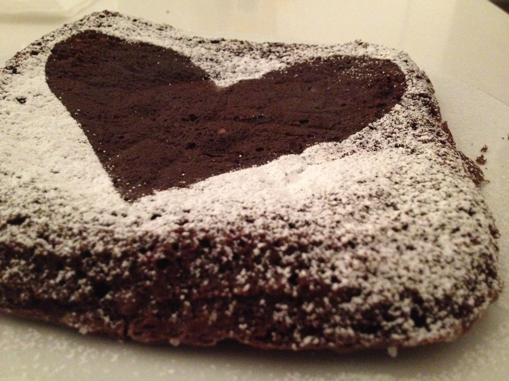 Classic Homemade Brownies -- Valentine's Edition