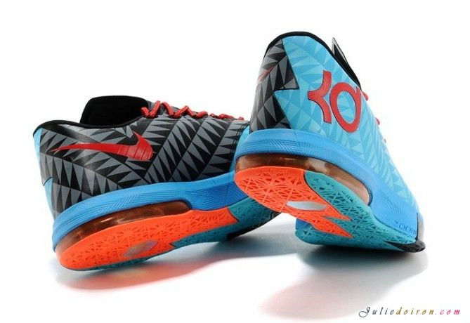 2014 kd shoes | Home » Nike 2014 Zoom KD VI 6 Shoes Men Blue Red