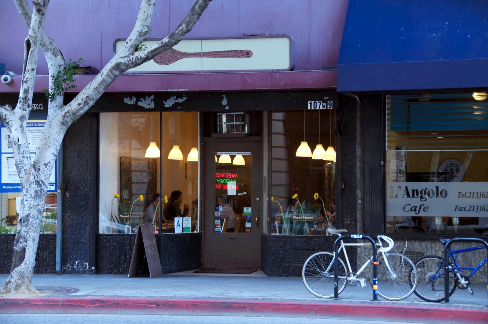 LA Fashion District: Brazilian Dining at Wood Spoon - Wood Spoon! Get it? 107 W. 9th St. Los Angeles, CA
