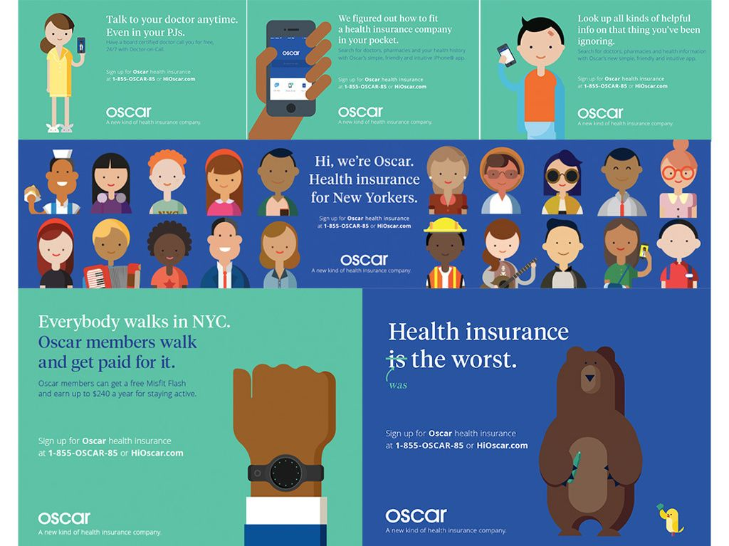 Oscar Health Insurance Jill Group Creative Director Best