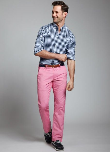 Real men wear pink | Image and Style | Pinterest | Summer, Colored ...
