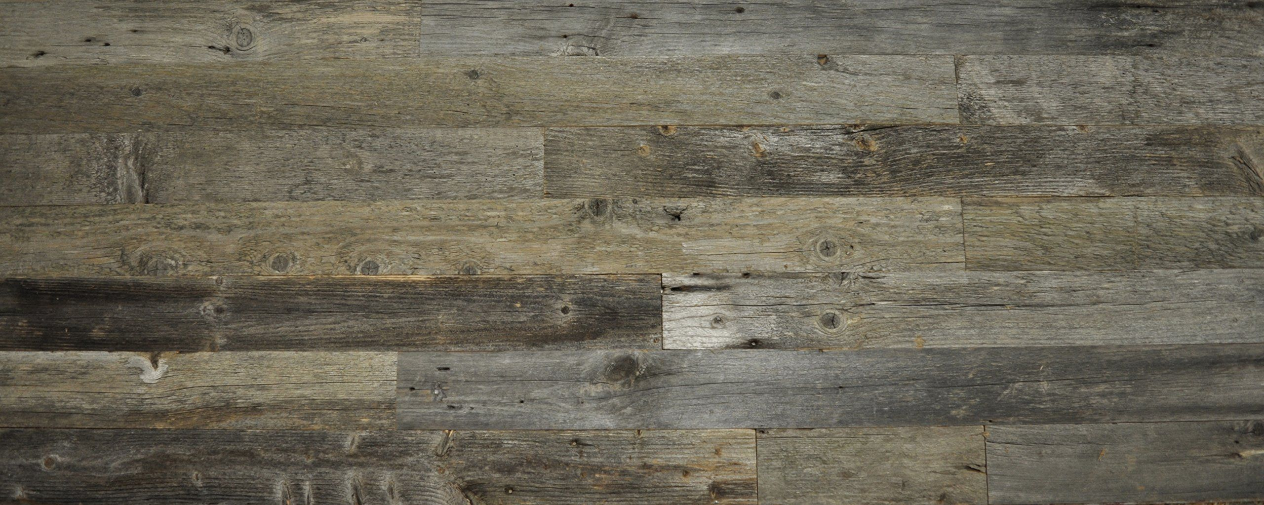 Diy Reclaimed Wood Accent Wall 10 Square Feet Of Grey Shades Do It Yourself Genuine Barn Color