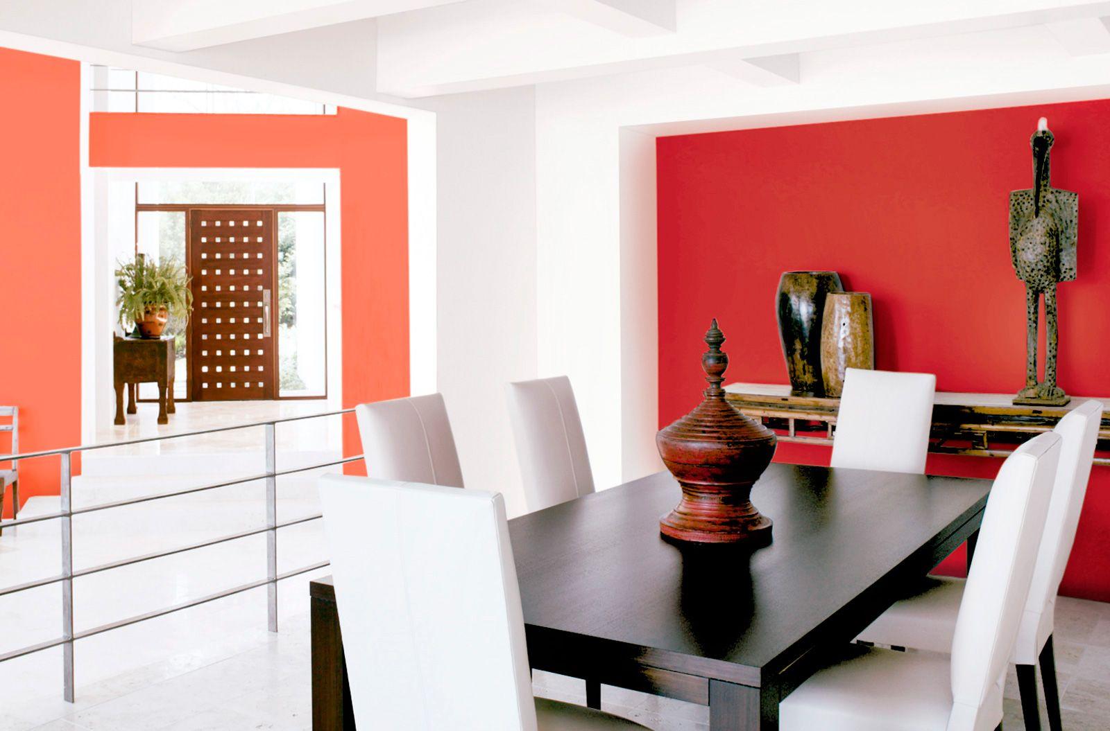 Las mesas rectangulares optimizan el espacio de los - Mesas para comedores pequenos ...