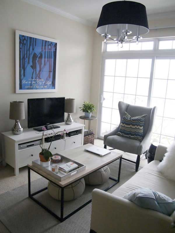 Design For Small Living Rooms Magnificent 30 Fotos E Ideas Para Decorar Un Salón Pequeño Furniture Layout Inspiration