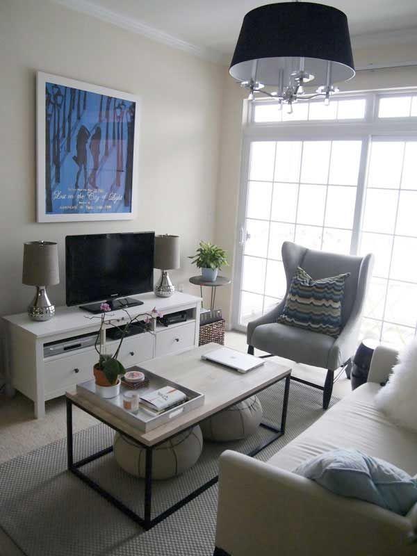 30 fotos e ideas para decorar un salón pequeño. | Salón pequeño ...