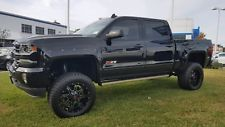 2018 Chevrolet Silverado 1500 Ltz Z71 4wd Crew Cab Lifted More