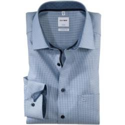 Photo of Olymp Luxor Shirt, comfort fit, New Kent, Bleu, 42 Olympolymp