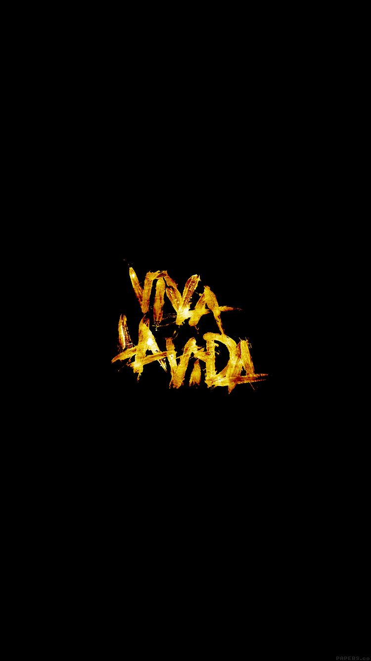 Al53 Viva La Vida Logo Music Art In 2019 Coldplay Coldplay
