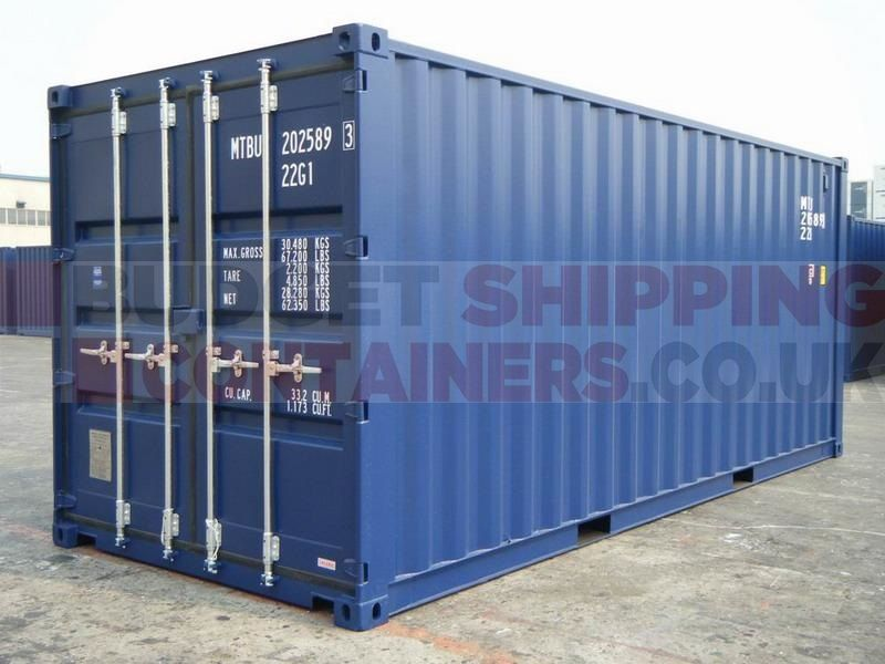 20ft Shipping Containers One Trip New Shipping Containers For Sale Containers For Sale Storage Containers For Sale