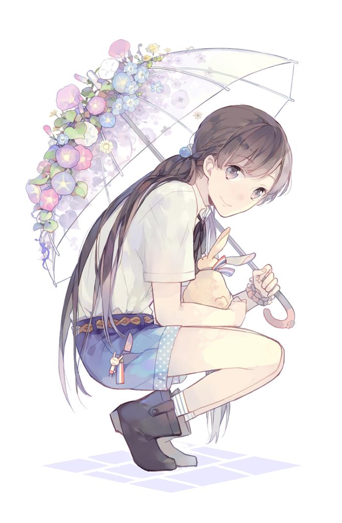 Anime Random Anime Girl 2 render (png) by orihimeyuuka