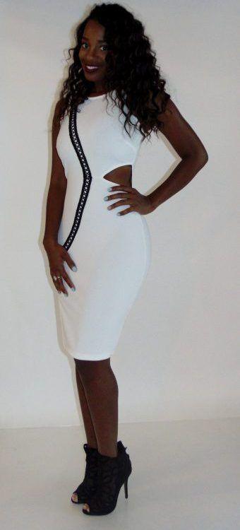 Venus White Dress | Tags Boutique