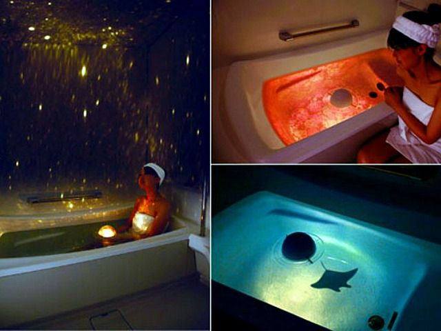 Homestar Spa Night Sky Floating Projector Gadgets And