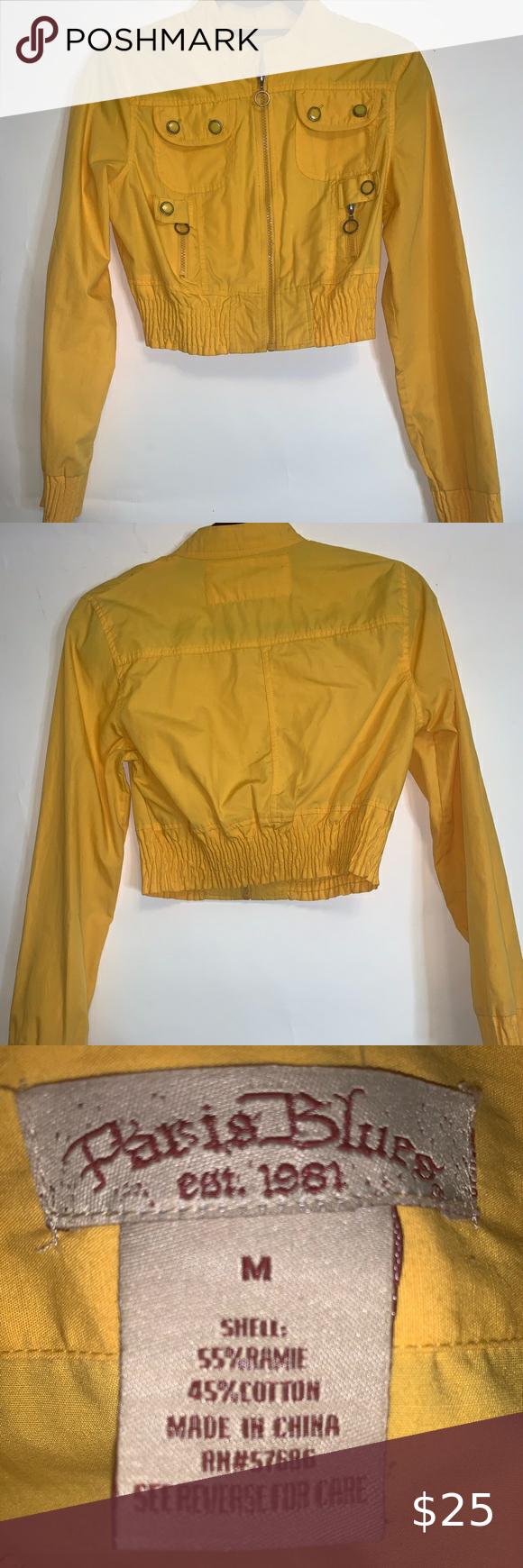 Paris Blues Mustard Yellow Cropped Jacket Crop Jacket Paris Blues Mustard Yellow [ 1740 x 580 Pixel ]