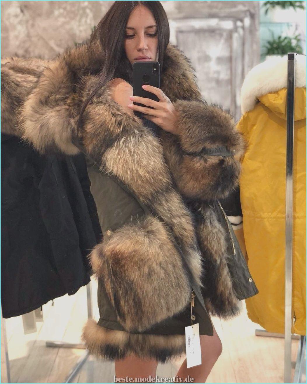 45+ In Vogue Pelz oder Kunstpelz Jacken Mäntel für die
