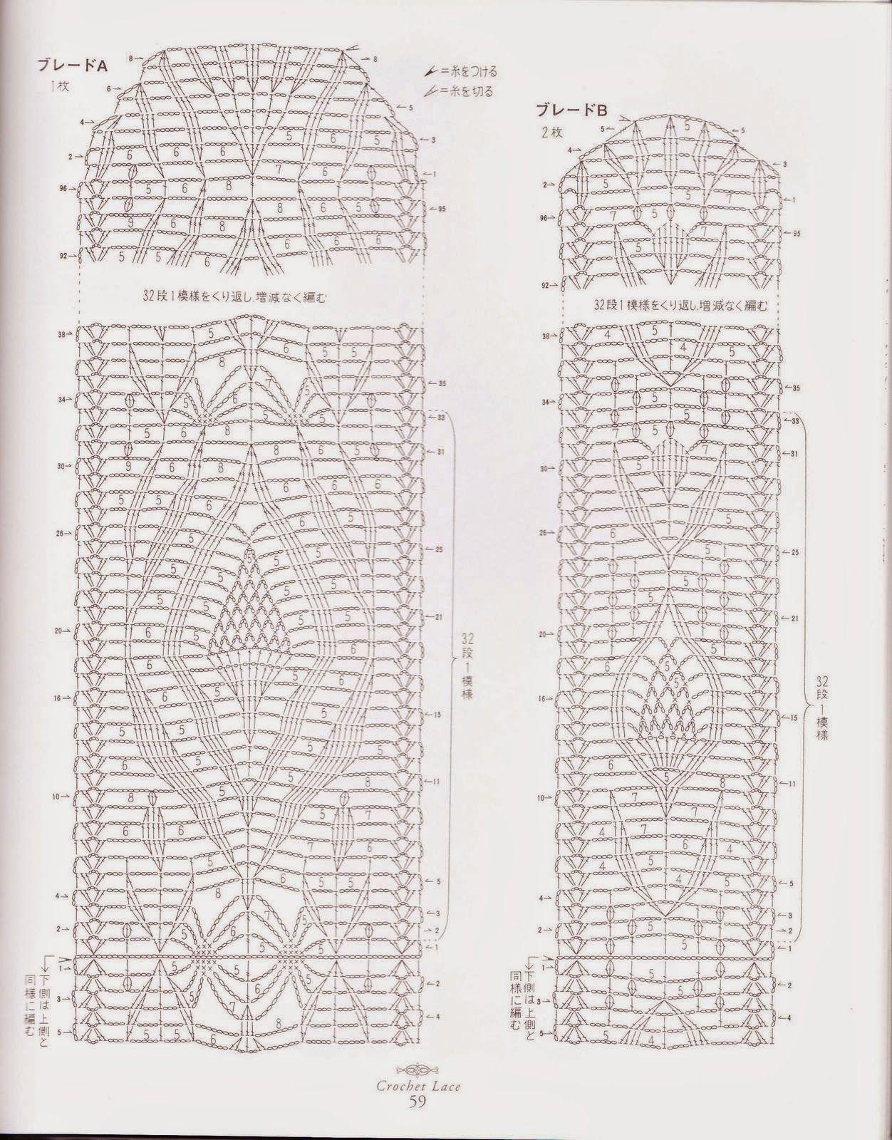 PATRONES GRATIS DE CROCHET: Patrón de un bonito camino de mesa a ...