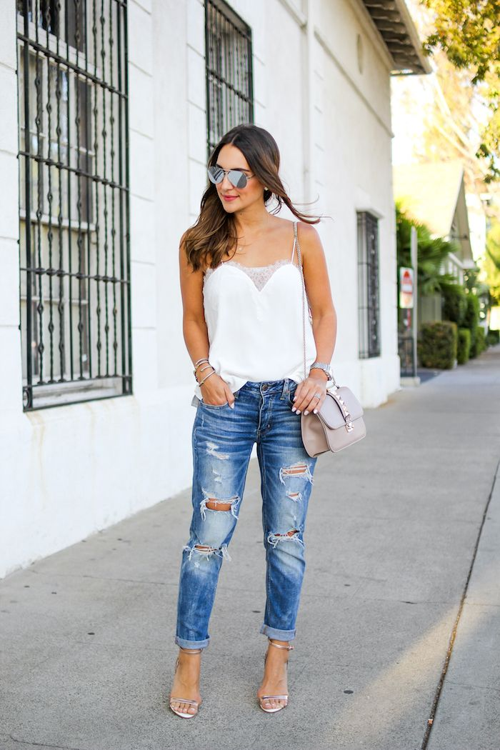 8 Cool Ways to Wear Boyfriend Jeans This Fall - Teen Vogue