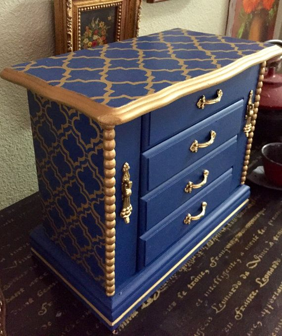 Large Jewelry Box Jewelry Box Wood Jewelry Chest Jewelry Storage