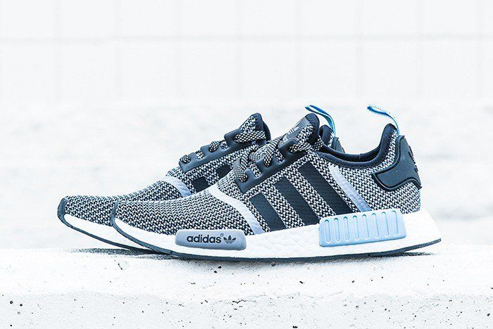 hot sales e69c2 3bee9 Womens Adidas Nmd R1 Athletic Shoe Light Blue