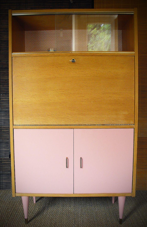 meuble secr taire vintage r nov et relook octave house. Black Bedroom Furniture Sets. Home Design Ideas