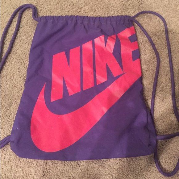 1a1c57c51 Nike drawstring bag Small defects as seen in second photo. Perfect little  gym bag. Nike Accessories